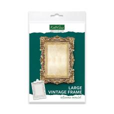 Vintage Frame Silicone Mould (Large)