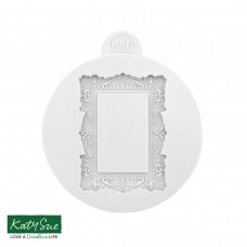 Vintage Frame Silicone Mould (Small)