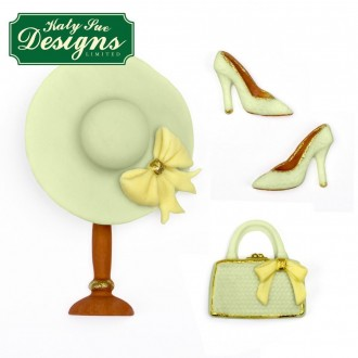 Fashion Accessories Silicone Mold (hat, shoes, bow, bag)