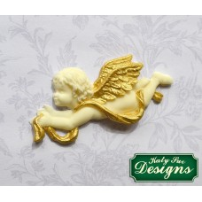 Ornamental Cherubs Silicone Mold