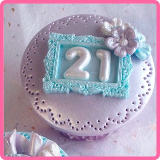 Domed Numbers Silicone Mold