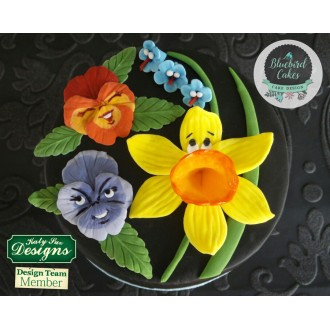 Pansies Silicone Mold
