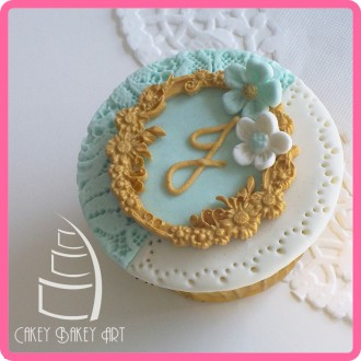 Floral Circle Silicone Mold
