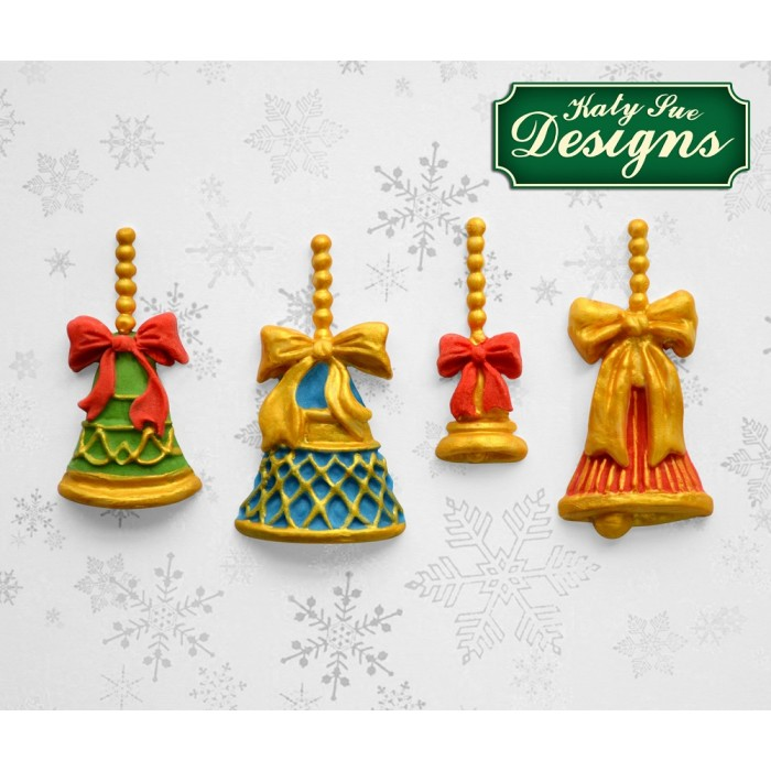 Christmas Bells Silicone Mold