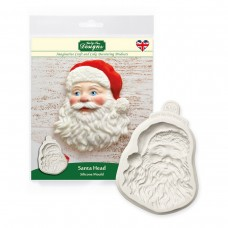 Santa Head Silicone Mold