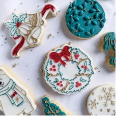 Christmas Wreath Cookie Cutter and Embosser