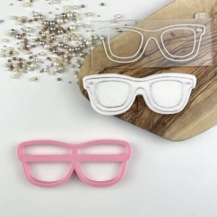 Sunglasses Summer Cookie Cutter and Embosser