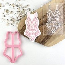Bodysuit Cookie Cutter and Embosser