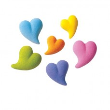 Sugar Teardrop Heart Assortment  (Box of 144)