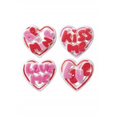 Sugar Talking Heart Assortment (Box of 120)