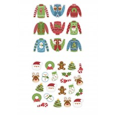 Ugly Sweaters Variety Edible Image