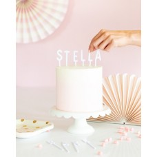 Letterboard Cake Toppers - Cake by Courtney (White)