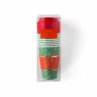 Deck the Halls Cocoa/Coffee Cups
