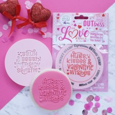 OUTboss™ Love Collection - Hugs Kisses & Valentine Wishes