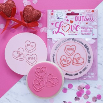 OUTboss™ Love Collection - Funny Love Hearts