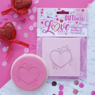 OUTboss™ Love Collection - Heart Floral Frame