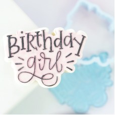 OUTboss™ Stamp N Cut - Birthday Girl Cutter & Stamp