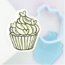 OUTboss™ Stamp N Cut - Cupcake Cutter & Stamp
