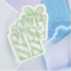 OUTboss™ Stamp N Cut - Gifts / Presents Cutter & Stamp