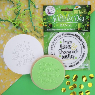 OUTboss™ St Patrick's Day - Irish Kisses & Shamrock Wishes