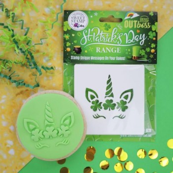 OUTboss™ St Patrick's Day - Shamrock Unicorn  (PRE-ORDER Your whole order wont ship before these stamps are in stock)
