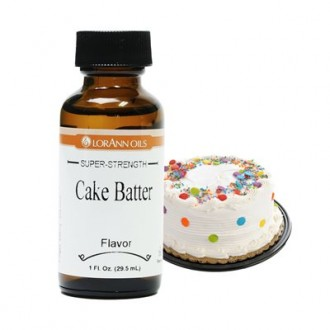 LorAnn Oils Gourmet: Cake Batter (1 oz - 29.5ml) (Soluble)