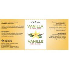 Alcohol Free Vanilla, Natural, 4 oz from Lorann Oils