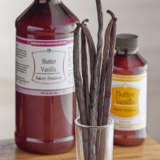 Bakery Emulsion - Butter Vanilla  (16oz)