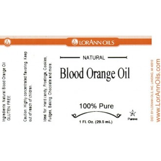 LorAnn Oils Gourmet: Blood Orange (1 oz - 29.5ml)