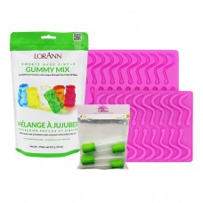 Silicone Gummy Bear Mould (Twin Pack)