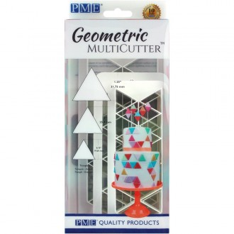 PME Geometric Multicutter- Triangle (Set of 3)