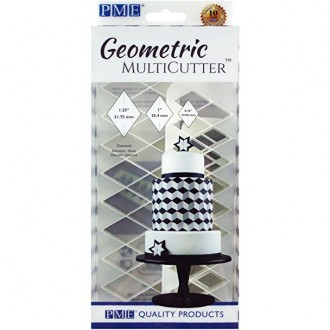 PME Geometric Multicutter- Diamond (Set of 3)