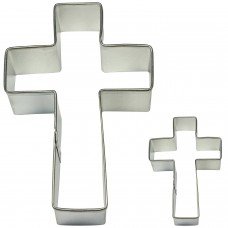 Cross Cookie Cutter (Set of 2)