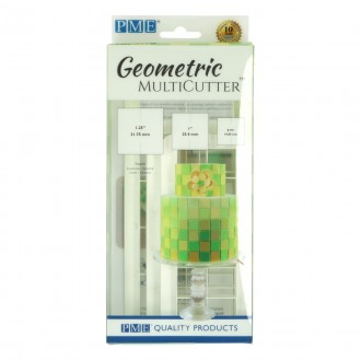PME Geometric Multicutter- Square (Set of 3)