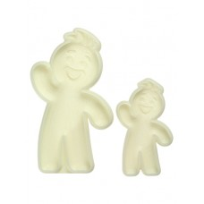 Jem Easy Pops Gingerbread Man (Set of 2)