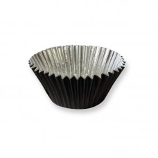 Foil Bake Cups Black (Quantity 30) Matt Finish
