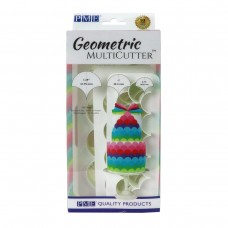 PME Geometric Multicutter- Fish Scale (Set of 3)