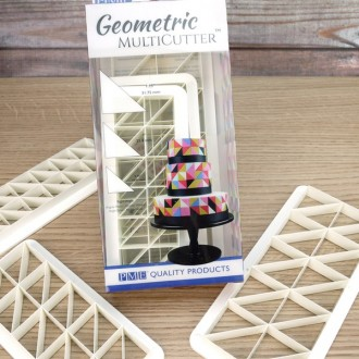 PME Geometric Multicutter- Right Angle (Set of 3)