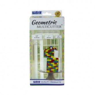 PME Geometric Multicutter- Brick Effect (Set of 3)