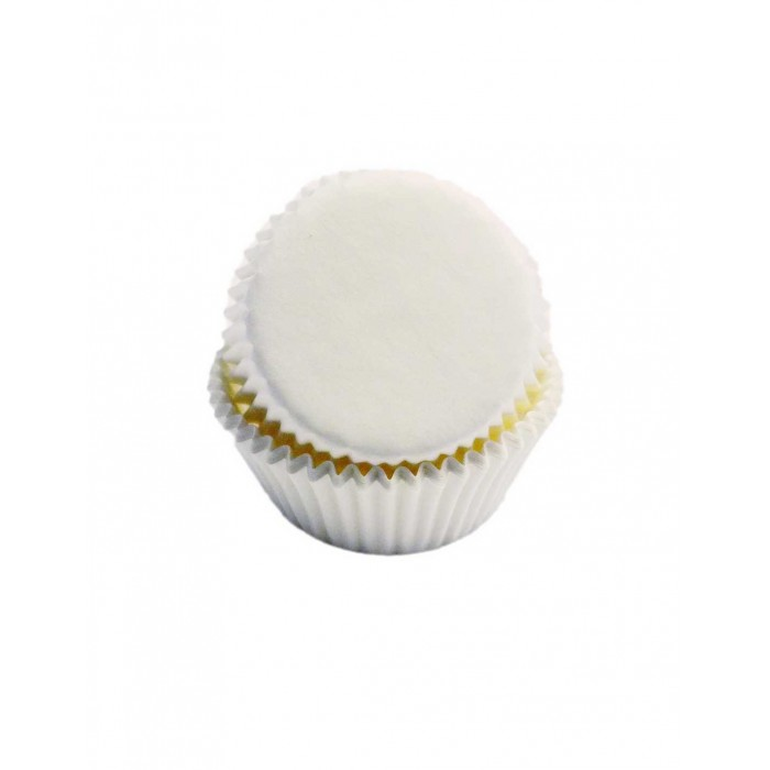 White Mini Baking Cups (Quantity 100)