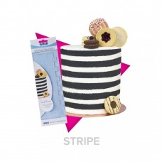 PME Tall Patterned Edge Side Scrapers - Stripes