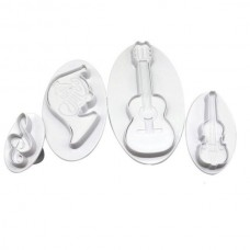 Music Cutter and Plunger set (4)