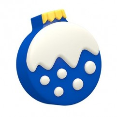 Winter Christmas Ornaments Cookie Mold (Oreo)