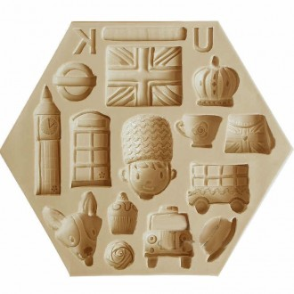 England Elements Silicone Mold