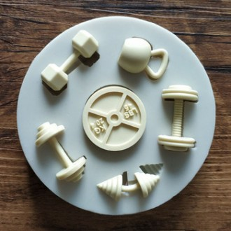 Gym Equipment Silicone Mold
