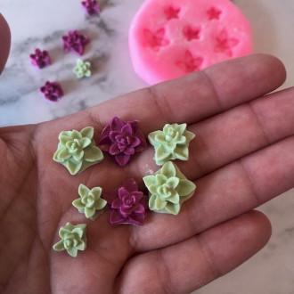 Mini succulent Silicone Mold