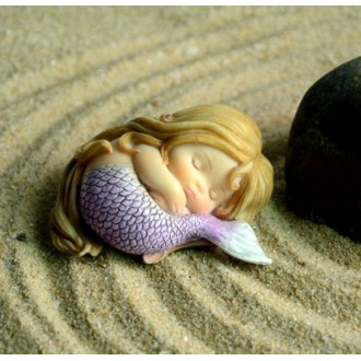 Baby Mermaid Silicone Mold 2