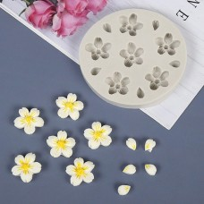 Cherry Blossom Flowers Silicone Mold