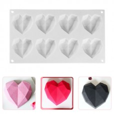 Heart Shaped Silicone Mold