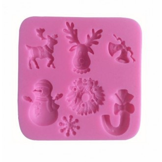 Silicone Mold for Christmas 3